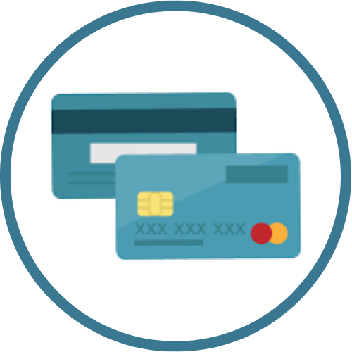 Payment card UI section