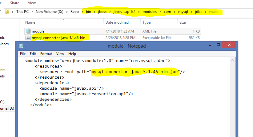 New installation, JBOSS not working, Fatal error - General