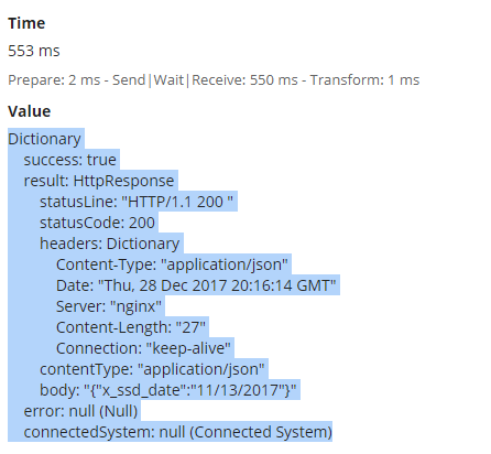 HTTP Get Response into variable (fv!result not found) - User