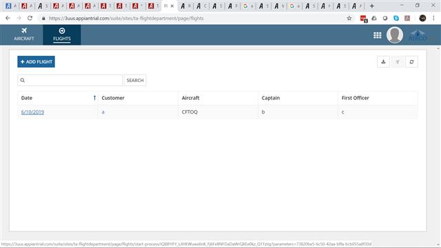 Cannot pass a parameter using Start Process Link from a
